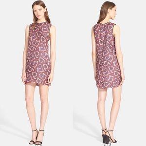 NWT Theory Bindina L Paisley Dress